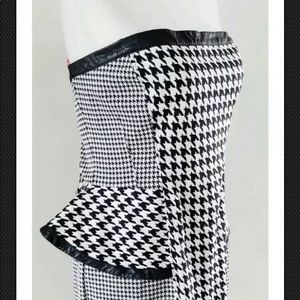Bebe Houndstooth dress